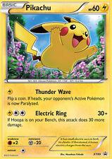 XY89 Pikachu Holo Black Star Promo Pokemon Card. NM/MT. In top loader