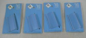 "Graber Shade Hem Grip 39-3092-34 UNUSED NEW LOT 4 clear plastic 3"""