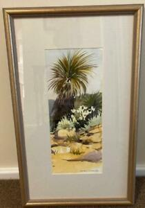Original Watercolour Painting -'A Rocky Place' Bungonia Gorge - Brian McCauley