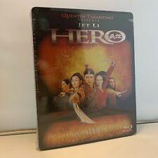 Jet Li Hero Steelbook Blu Ray New Sealed