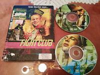 FIGHT CLUB EL CLUB DE LA LUCHA 2 X DVD SPECIAL EDIT ENGLISH REGION 1 BRAD PITT