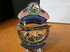 Federal Air Marshal Service Mount Rushmore Justice From Above FAM Challenge Coin