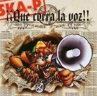 """SKA-P """"QUE CORRA LA VOZ"""" CD NEW+"""
