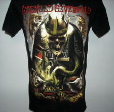 Mens Avenged Sevenfold World Tour 2015 t shirt small heavy metal band