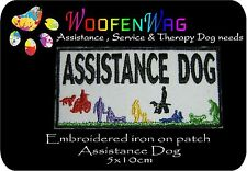 NEW  K9 Embroidered Assistance DOG Patch iron on