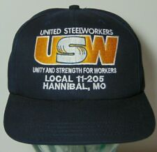 United States United Steelworkers USW Hannibal Missouri HAT CAP Made in USA