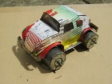 Scratchbuilt Tin Model VW Beetle from Beer & Aerosol Cans