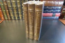Easton Press MILAN KUNDERA MASTERPIECES 3 Vols., 1 SIGNED NEW/SEALED, Leather