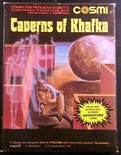 Caverns of Khafka (Commodore 64/128, 1984) - Complete