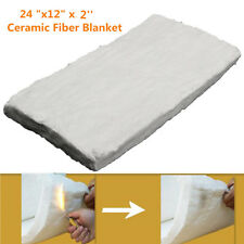 24''x12''x2'' Ceramic Fiber Insulation Blanket Thermal High Temperature