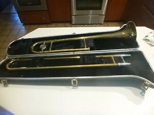 Bundy Trombone Instrument w/Hard Case.