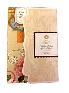 ANNA GRIFFIN VINTAGE COLLAGE CARD TOPPERS Kit 1~109 Cardstock Die Cuts~NEW