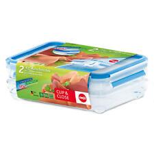 Emsa Clip & Close Aufschnittbox Dose Frischhaltebox Käse-Wurstbox 513576