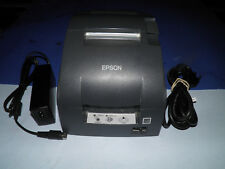 Epson TM-U220B M188B Dot Matrix POS Receipt Printer Serial w Power Supply