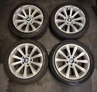 """GENUINE 17"""" BMW STYLE 285 V SPOKE ALLOY WHEELS E90 E91 E92 3 SERIES Z3 Z4"""