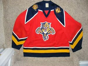 Florida Panthers Red CCM Mesh Adult Jersey