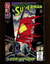 Superman (2nd Series) #75 (4th Print) VF Death of Superman, Doomsday Battle