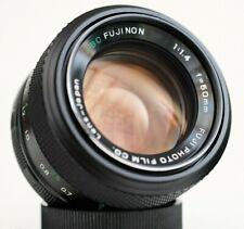 FUJI PHOTO FILM EBC FUJINON 50mm f1.4 - near mint M42 mount lens made in Japan