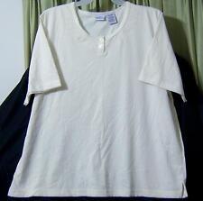 Sz 22-24 Bobbie Brooks Woman PolyCotton CLOTHES Plus Misses Shirt Blouse TOP VGC