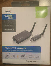 IOGEAR Wireless USB to VGA Adapter kit GUW2015VKIT - wireless video extender GUW