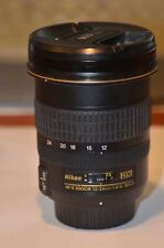 Nikon Lens Nikkor AF-S Nikkor 12-24mm 1:4 G ED DX in good useable condition.