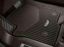 2021-2022 Cadillac Escalade / ESV Front & 2nd Row Rubber Mats Dark Atmosphere OE