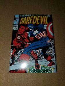 "Daredevil Captain America Marvel Comics 43 Refrigerator Magnet 2"" X 3"" fridge"