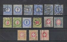 SWITZERLAND - Lot of old stamps