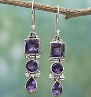 Women's Retro Gifts Moonstone Handmade Earring Jewelry Earrings Ear