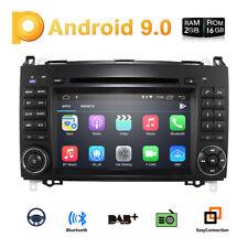 DAB+ Android 9.0 Car Stereo DVD GPS Mercedes Benz A/B Class Sprinter Vito Viano