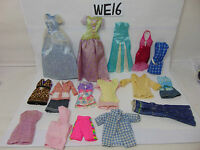 MATTEL BARBIE-KEN DOLL VINTAGE OUTFIT LOT OF 16  HANDMADE-FACTORY MIXED NICE