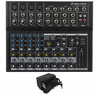 New Mackie Mix12FX 12-Channel Compact Mixer W/FX Proven Performance Built Rugged photo