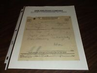JANUARY 1943 ERIE RAILROAD CAMPBELL HALL, NEW YORK TRAIN ORDER ERIE 805/800