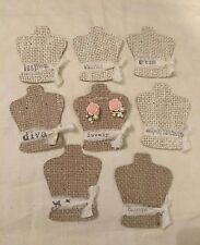 100 Burlap EARRING DISPLAY CARDS, earrings cards, jewelry holder