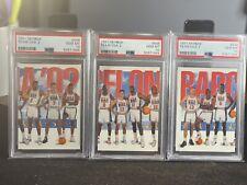 1991 Skybox USA Team 3 Card Lot MICHAEL JORDAN PSA 10's GEM!  Larry Bird Magic