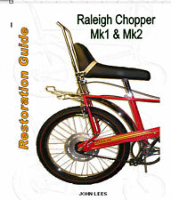 """RALEIGH CHOPPER """"HOW TO"""" RESTORATION BOOK"""