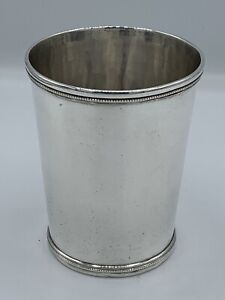George Sharp Jr. 1860 Danville Kentucky Southern Coin Silver Mint Julep Cup
