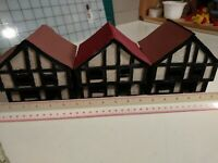 Lot of 3 15mm 20mm Rhineland Houses. Wargaming Terrain RPG