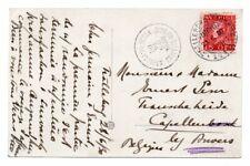 SWEDEN: Posttcard Trelleborg-Sassnitz 1930 to Belgium.