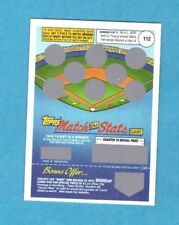 : 1991 Topps scratchoff cards for the Match the Stats Game Unscratched Hernandez