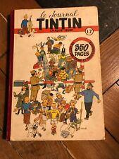 recueil reliure journal tintin belge 17 (1951) couv hergé BD ancienne