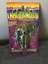 Vintage 1986 Hasbro Inhumanoids Earth Corps HERC ARMSTRONG Unpunched !