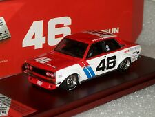 BRE DATSUN 510 #46 1972 SCCA TRANS-AM CHAMPION LIM. EDITION SIGNED TSM10SS1 1/43