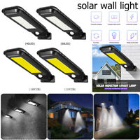 Solar LED Motion Sensor Light Outdoor Garden Path Street Wall Lamp Waterproof