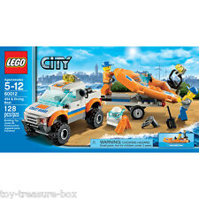 LEGO City - Model 60012  - 4x4 and Diving Boat - 128 piece set - Ages 5 -12