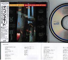 DEPECHE MODE Black Celebration JAPAN CD 32XD-437 w/STICKER OBI+PS+INSERT Free SH