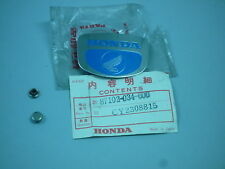 Honda Cub 90 CM90 CM91 Front Legshield Emblem Badge FREE POSTAGE geniune NOS
