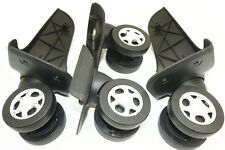 4Pcs/Set Tourister Luggage Suitcase Replacement 360 Spinner Wheels Repair