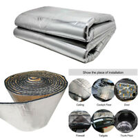 1.4*1m Fiberglass Sound Proofing Mat for Car Roofs, Doors, Wheel Arches, Boot