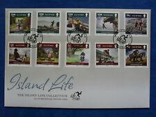 Isle of Man FDC 12.01.2010 ISLAND LIFE